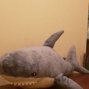 43in Stuffed Shark